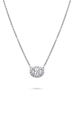 Roman And Jules Pave Diamond Halo Semi Mount Necklace MN807B-2 product image