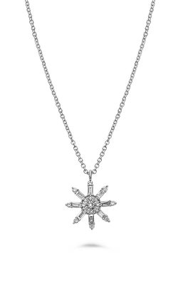 Roman And Jules Diamond Snowflake Necklace EN1088-1 product image