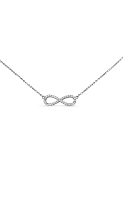 Roman And Jules Diamond Infinity Pendant Necklace UN1775-4 product image