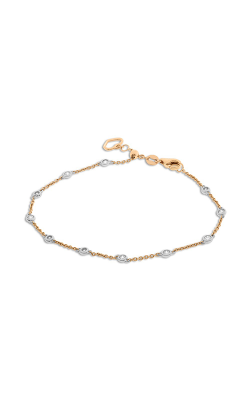 Roman And Jules Rose Gold Diamond by the Yard Bracelet UB1776-3 product image
