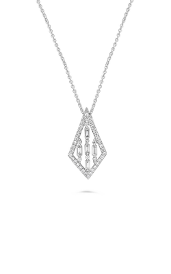 Roman And Jules Kite Shaped Diamond Pendant With Chain Necklace DN1037-1 product image
