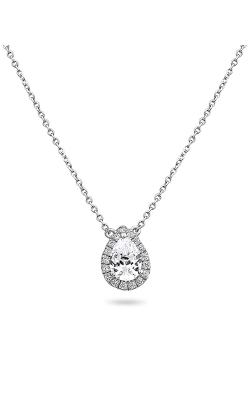 Roman And Jules Pave Diamond Halo Semi Mount Necklace MN807-2 product image