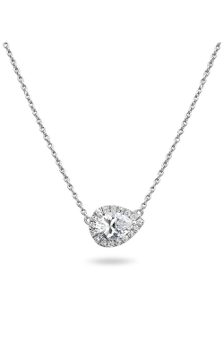 Roman And Jules Pave Diamond Halo Semi Mount Necklace MN807-3 product image