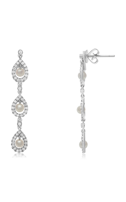 Roman And Jules Fashion Label Earrings KE1554WPRL-18K product image