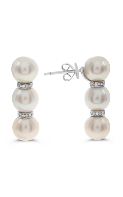 Roman And Jules Fashion Label Earrings KE1561WPRL-18K-1 product image