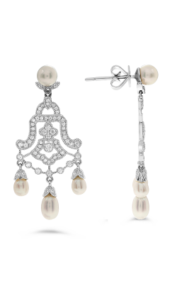 Roman And Jules Fashion Label Earrings KE1563WPRL-18K product image