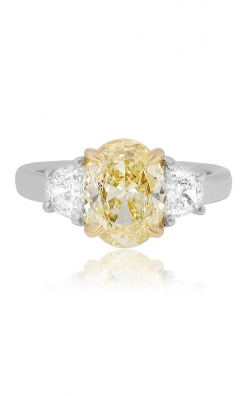 Roman and Jules Yellow Label Engagement ring KR5792-1 product image