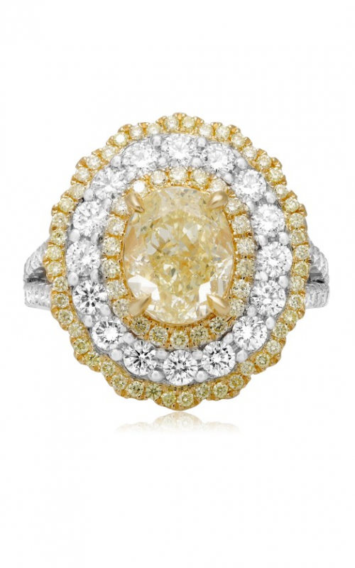 Roman and Jules Yellow Label Engagement ring NR766-7 product image
