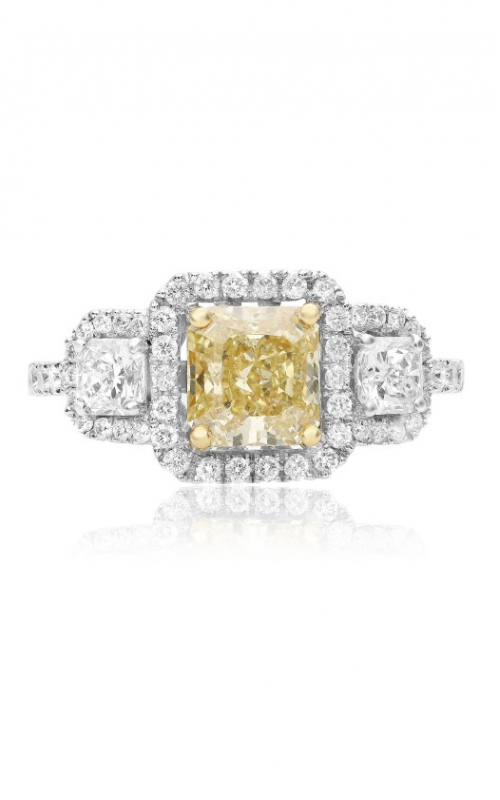 Roman and Jules Yellow Label Engagement ring KR1106WY-18K product image
