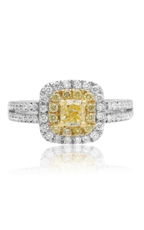 Roman and Jules Yellow Label Engagement ring NR413WY-18K product image