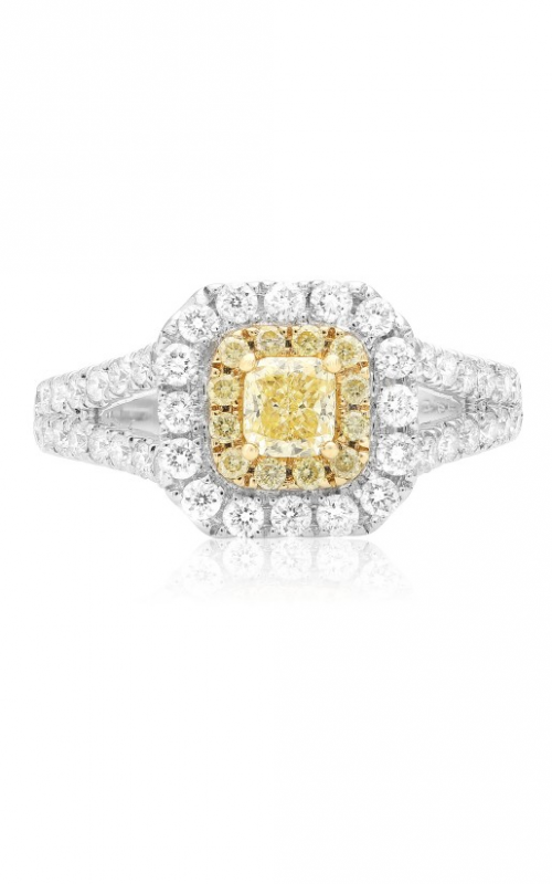 Roman and Jules Yellow Label Engagement ring FR236WY-18K product image
