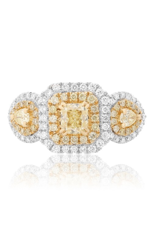 Roman and Jules Yellow Label Engagement ring FR265-18K-4 product image