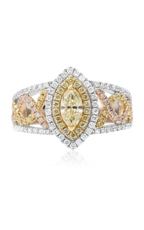 Roman and Jules Yellow Label Engagement ring KR5029WYR-18K product image