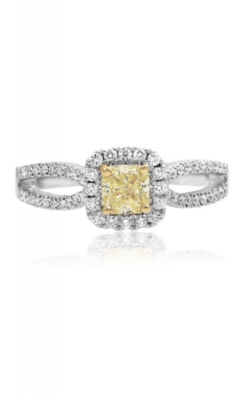 Roman and Jules Yellow Label Engagement ring KR1444WY-18K product image