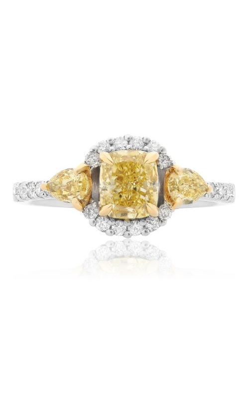 Roman and Jules Yellow Label Engagement ring KR2440WY-18K product image