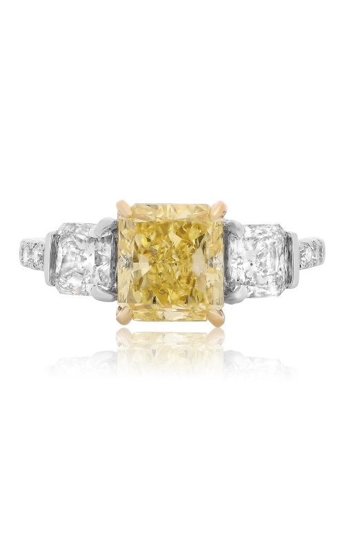 Roman and Jules Yellow Label Engagement ring KR2471WY-18K product image