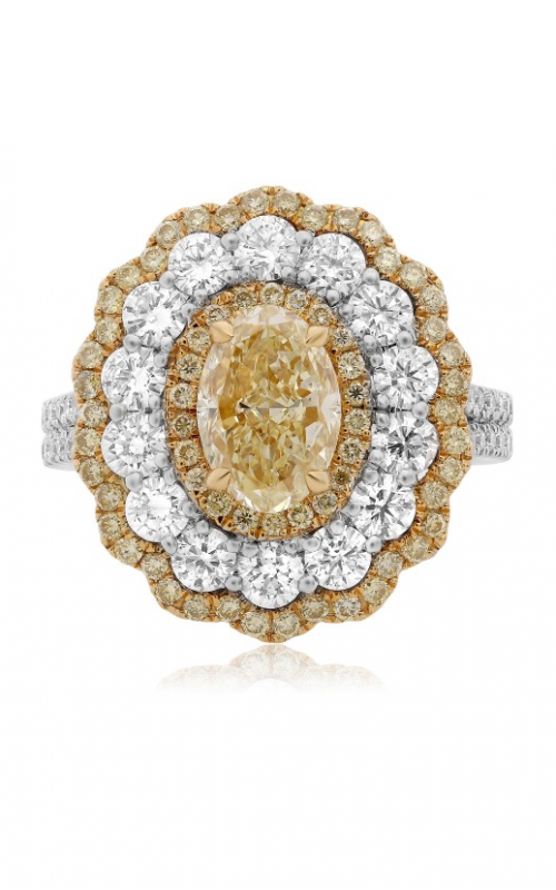 Roman and Jules Yellow Label Engagement ring KR3155WYR-18K product image