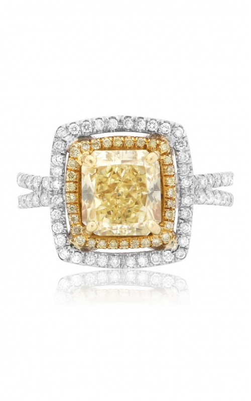 Roman and Jules Yellow Label Engagement ring GR2379WY-18K product image