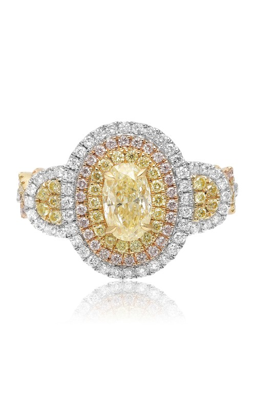 Roman and Jules Yellow Label Engagement ring KR3760WRY-18K product image