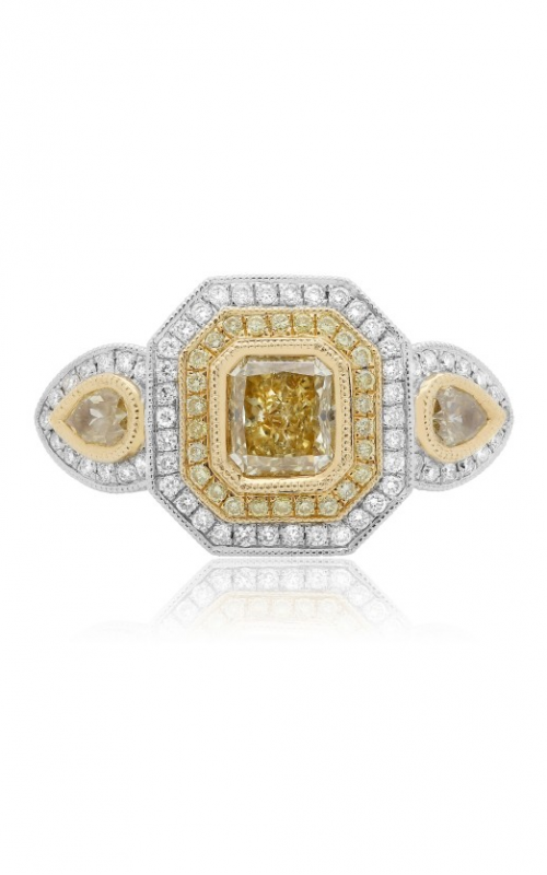 Roman and Jules Yellow Label Engagement ring KR3916WY-18K product image