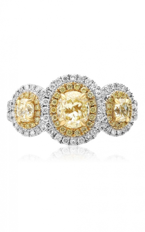 Roman and Jules Yellow Label Engagement ring KR3974WY-18K product image