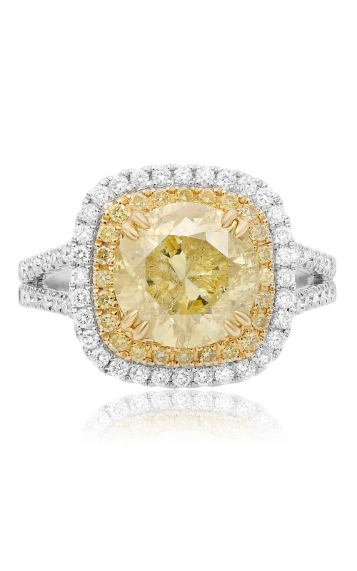 Roman and Jules Yellow Label Engagement ring KR3063WY-18K product image