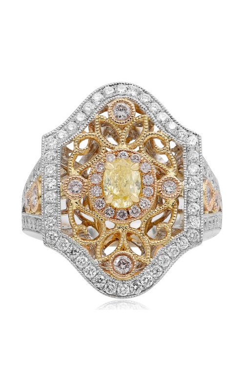 Roman and Jules Yellow Label Engagement ring KR2799WRY-18K-1 product image