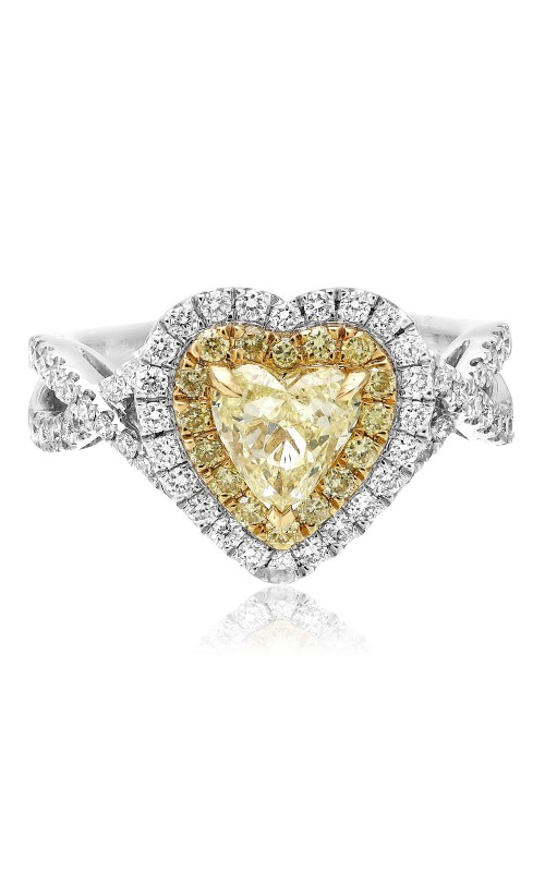 Roman and Jules Yellow Label Engagement ring KR4076WY-18K-2 product image