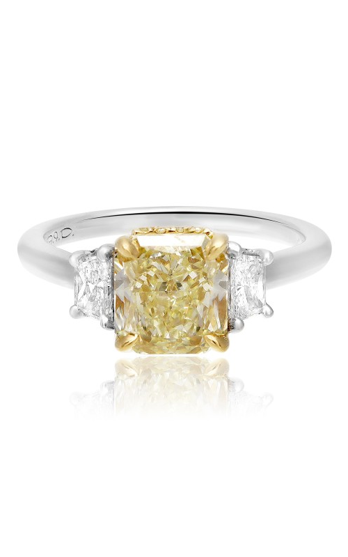 Roman and Jules Yellow Label Engagement ring KR3554WY-18K-1 product image