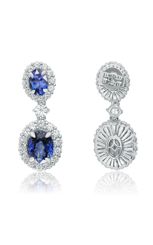 Roman and Jules Color Label Earrings KE3110WSP-18K-1 product image