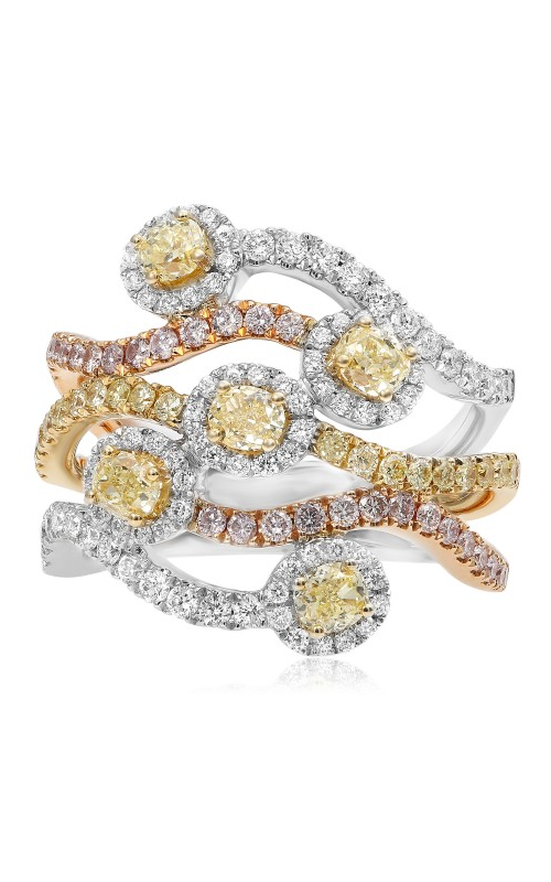 Roman and Jules Yellow Label Fashion ring FR256WRY-18K product image