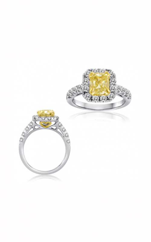 Roman and Jules Yellow Label Engagement ring NR305 product image