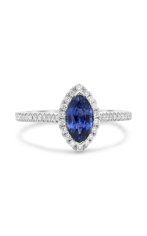 Roman and Jules Marquise Cut Sapphire Pave Ring UR1675-16 product image