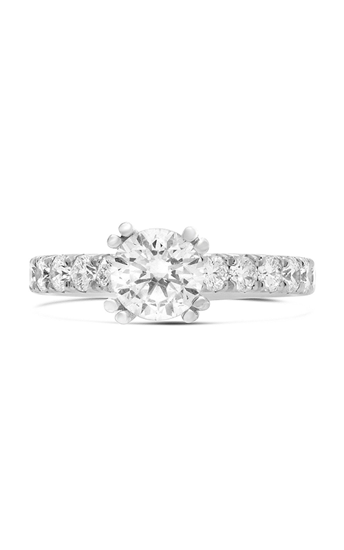 Roman and Jules Double Prong Round White Diamond Ring KR5306W-SM product image