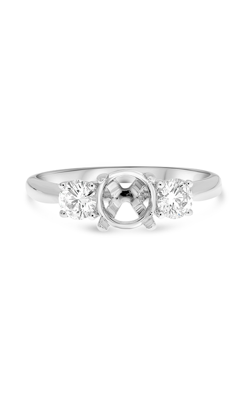 Roman And Jules White Gold Mount With Side Diamonds Engagement Ring MR632-147 product image