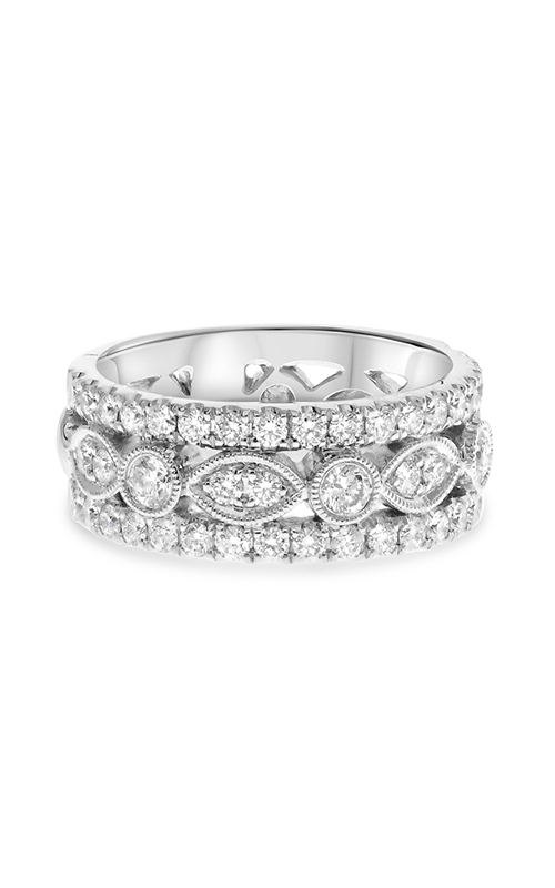 Roman And Jules White Gold Vintage Inspired Diamond Band KR5699-11 product image