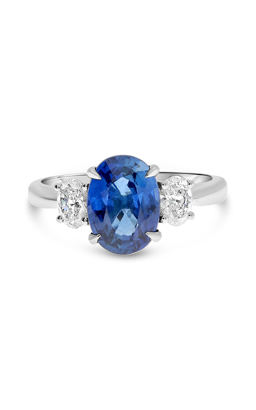 Roman And Jules Platinum Blue Sapphire Ring MR632-164 product image