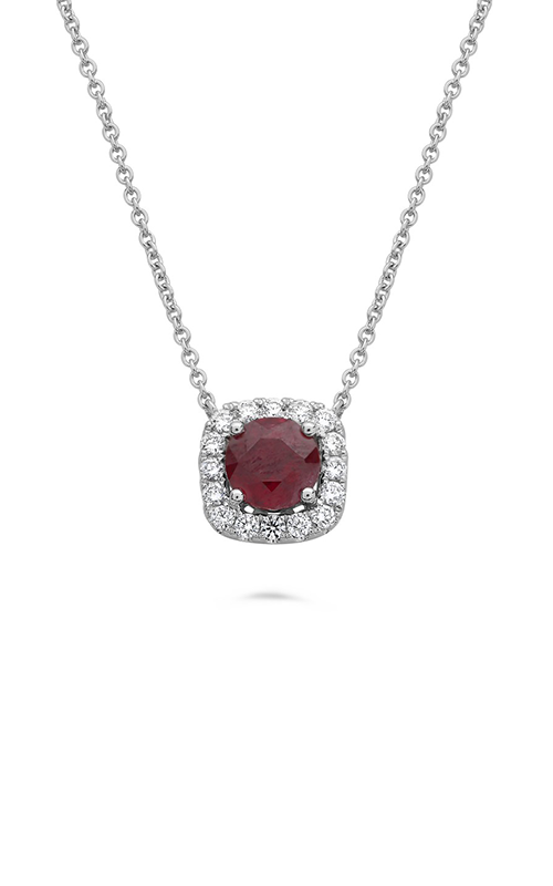Roman And Jules Cushion Cut Ruby Pendant NN2212-1 product image