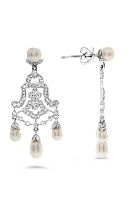 Roman and Jules Fashion Label Earring KE1563WPRL-18K product image