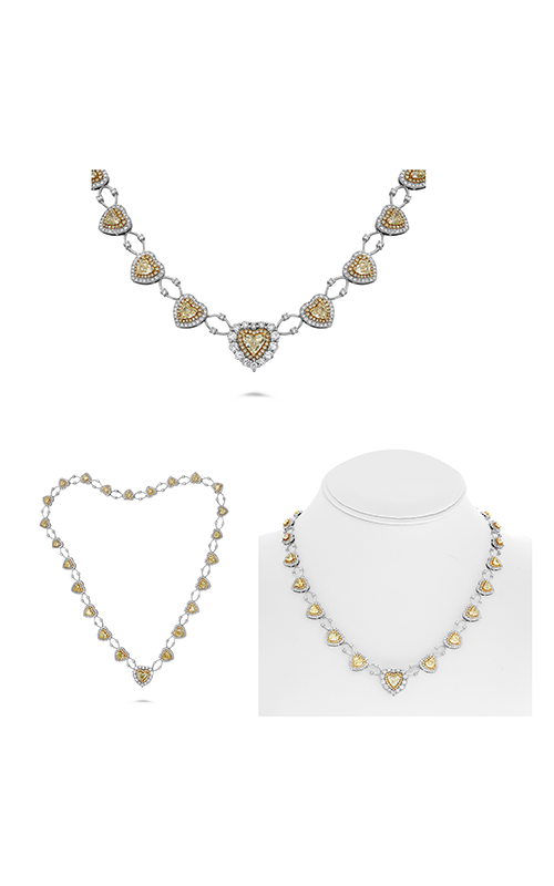 Roman and Jules Fashion Label Necklace KN4172WY-18K product image