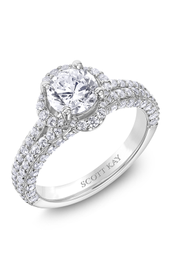 Scott Kay Namaste Engagement Ring 31-SK5194ERW-E.01 product image