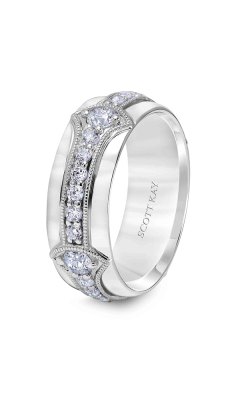 Scott Kay Heaven's Gate Wedding band 22-SK5561P8-G product image