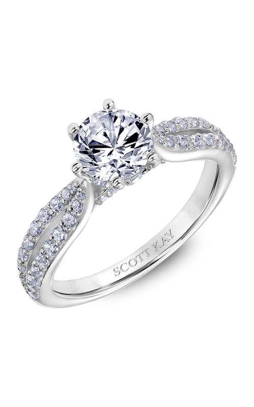 Scott Kay Luminaire Engagement Ring 31-SK6032ER8W-E.01 product image