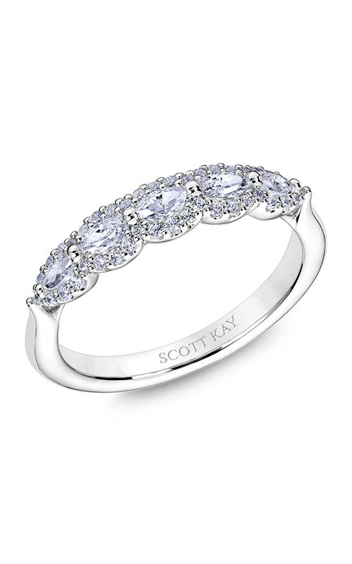 Scott Kay Namaste Wedding Band B2573RM510 product image