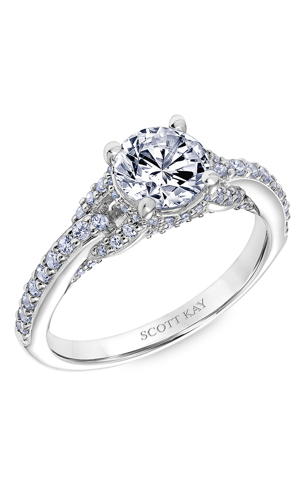 Scott Kay Embrace Engagement Ring 31-SK6035ER8W-E.01 product image
