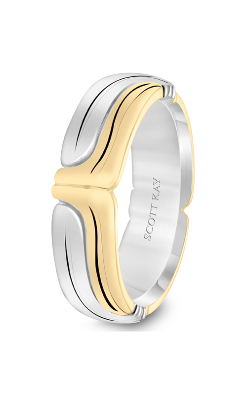 Scott Kay Namaste Men's Wedding Band 11-SK5624P7-G product image