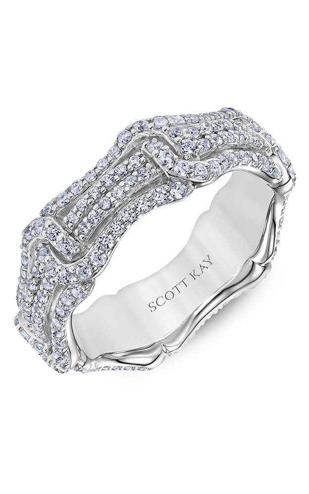 Scott Kay Guardian Women's Wedding Band 33-SK5551W065-L.01 product image