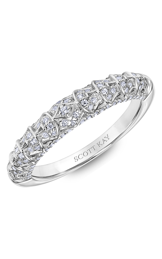 Scott Kay Heaven's Gates Women's Wedding Band 31-SK6022W8-L.00 product image