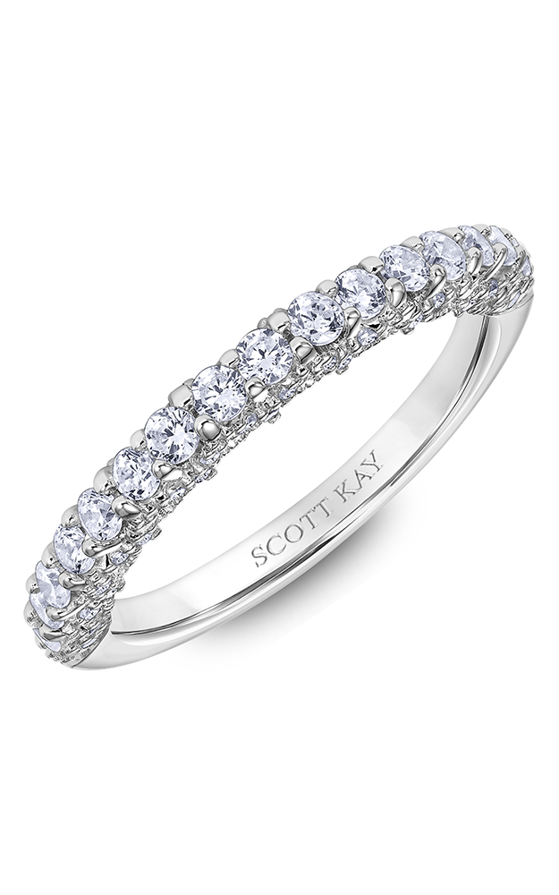 Scott Kay Heaven's Gates Women's Wedding Band 31-SK6018W8-L.00 product image