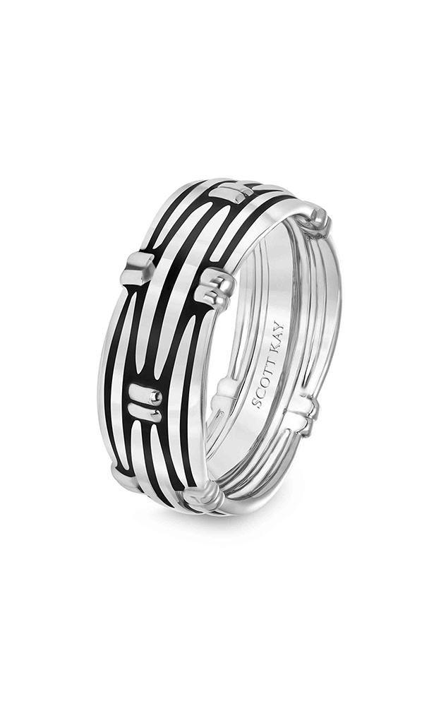 Scott Kay Luminaire Men's Wedding Band 11-SK5560P8-G product image